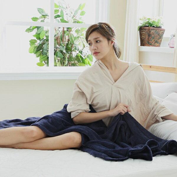 SN #S~FB002藍#多 纖柔法蘭絨舒眠毯  四季毯  保暖毯 150x200cm