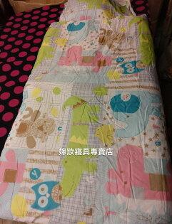 【嫁妝寢具】TENCEL天絲.卡通樂團.冬夏鋪棉兩用兒童睡袋120x150公分附原廠收納提袋