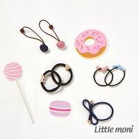 婦嬰用品-童裝推薦Little moni 造型髮圈四入 (不挑款)(好窩生活節)。就在麗嬰房婦嬰用品-童裝推薦