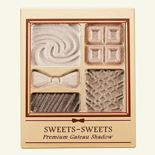 <br/><br/> SWEETS SWEETS 甜點花園眼彩-02可可亞餅乾 5.8g (附眼影棒1支)<br/><br/>