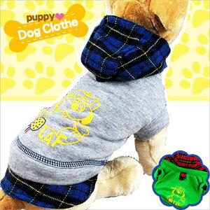 寵物裝格紋卡通印花E118~A137 寵物衣服寵物服裝寵物服飾店.毛小孩小狗衣服小貓衣服