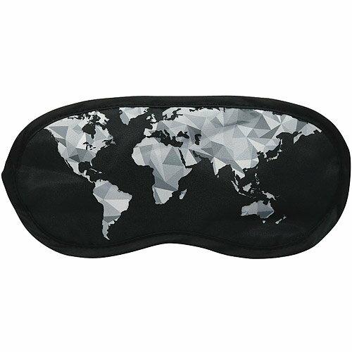 《DQ》輕旅眼罩(幾何地圖)