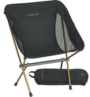 KELTY輕量摺疊低背椅露營椅折疊椅LingerLowBackChair61510416HBK黑