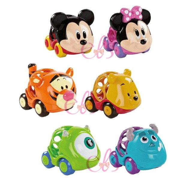 日本迪士尼OBALL洞動球造型車米奇米妮維尼跳跳虎毛怪大眼仔單隻六款供選☆艾莉莎ELS☆