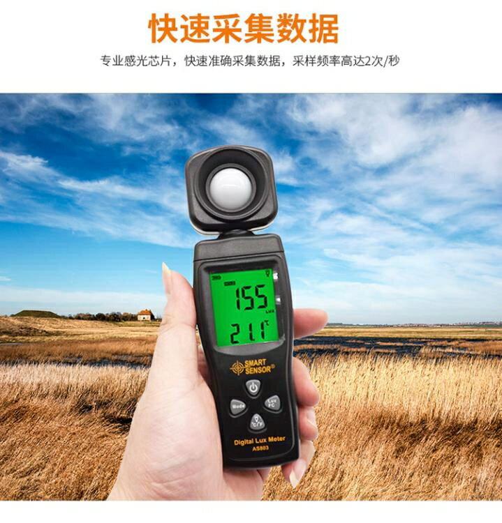 希瑪AS813數字照度儀光照度計測光儀測光表流明光度亮度計測量儀 DF