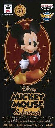 日版 WCF 迪士尼 特別版 珍珠色 Story.00 Special Memories VOL.1 單售 米奇 米老鼠 公仔