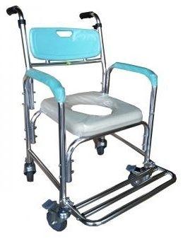 便器椅 便盆倚 鋁合金 附輪固定 FZK4301