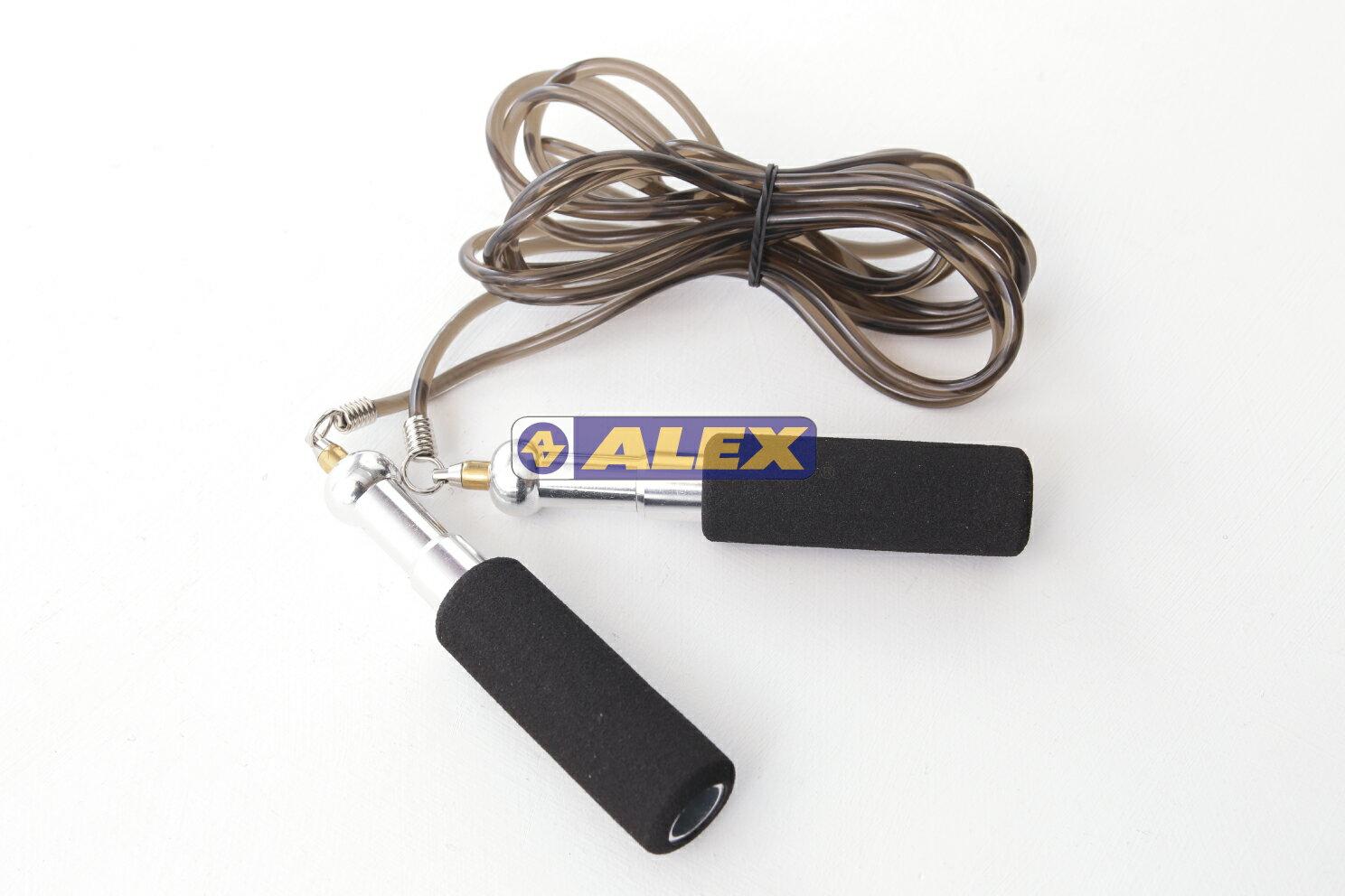 騎跑泳者-ALEX 高轉速跳繩(274CM) 鋁合金、PVC、EVA發泡,繩長274CM(不含握把)