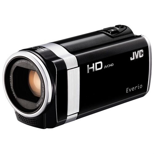 "JVC Everio GZ-HM650 Digital Camcorder with 40x Optical Zoom, 2.7"" LCD Touchscreen,CMOS, SD, 8 GB Flash Memory, Microphone, Black 0"