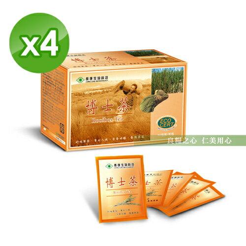 長庚生技 博士茶 30包  盒 x4