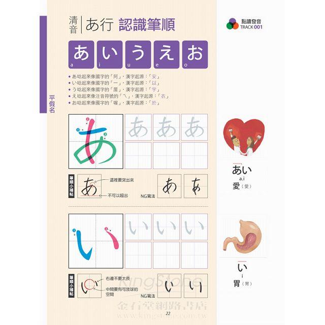 日語必學基本功 五十音+句型+會話(數位學習點讀版) 2