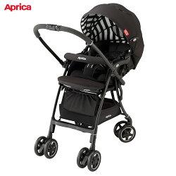 【麗嬰房】Aprica 愛普力卡 雙向輕量型手推車 LUXUNA AD 音樂城堡 黑白音階