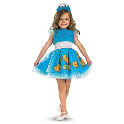 Sesame Street Frilly Cookie Monster Toddler/Child Costume 0