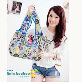 ●Rain booboo●蝴蝶包- 包包雨衣 名牌收納包 購物包 媽媽包 【灰底標款】