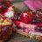 【一種ending】☞ 野莓威士忌重乳酪蛋糕6吋 ☜ 重乳酪烘烤威士忌微醺焦香x屬於大人的成熟滋味 / 歐洲進口7種綜合野莓x手工熬煮藍莓果醬 / Johnnie Walker黑牌威士忌 / 法國進口鐵塔牌奶油起司x輕重乳酪混合熟成使用 / 手工餅乾打碎底 3