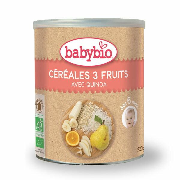 法國 倍優 Babybio 有機寶寶米精-水果 6m+