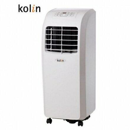 KOLIN 移動式空調 KD-201M02 ◆一機多用,冷氣、風扇、除濕◆不滴水 110V 隨插即用 移動式冷氣