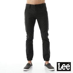 Lee 休閒長褲 素色縮口休閒褲/RG -男款
