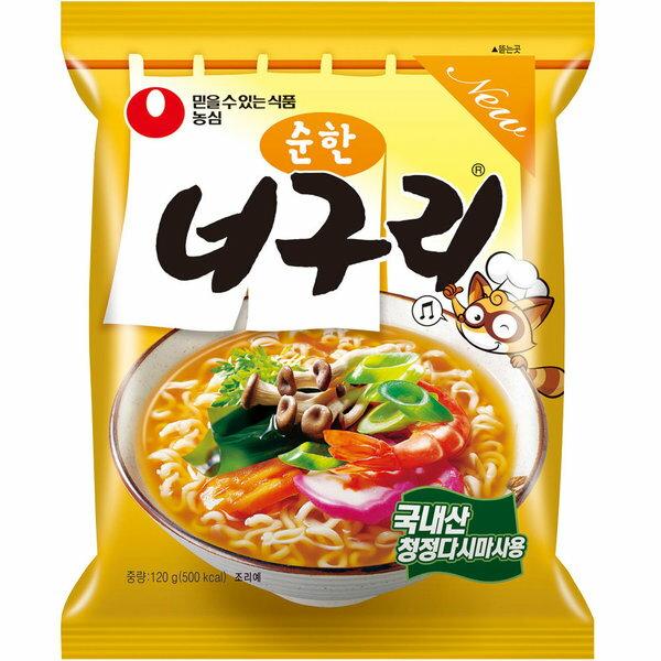韓國 農心浣熊麵(原味)