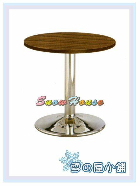 ╭☆雪之屋居家生活館☆╯R747-05 305電鍍圓桌/餐桌/茶几/置物桌/咖啡桌(直徑90公分)