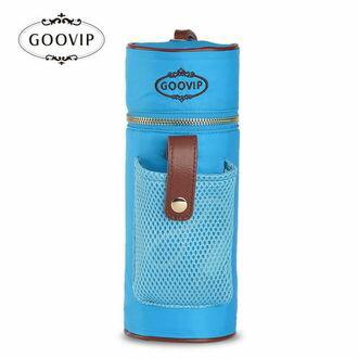『121婦嬰用品館』GOOVIP USB充電系列-攜帶式恆溫保溫袋(藍)