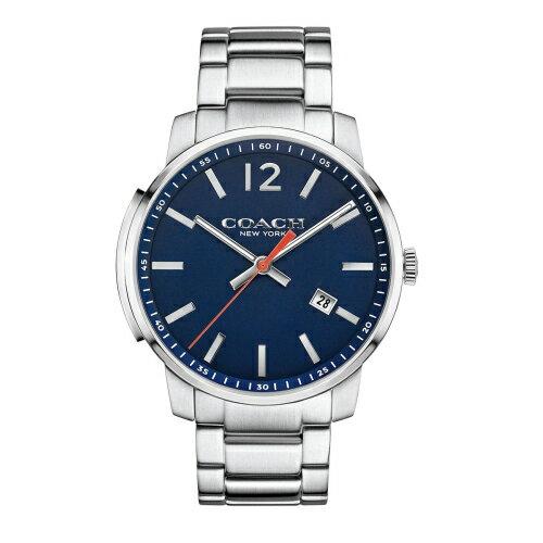 COACHMenBleecker時尚腕錶藍面14602001