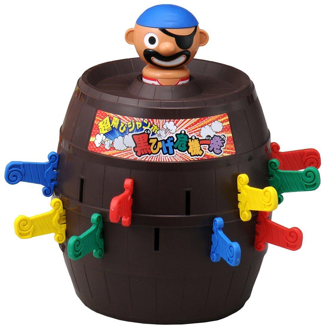 日版日貨 危機一發 超飛彈出 海盜 5倍高 超飛海盜桶 桌遊 整人玩具