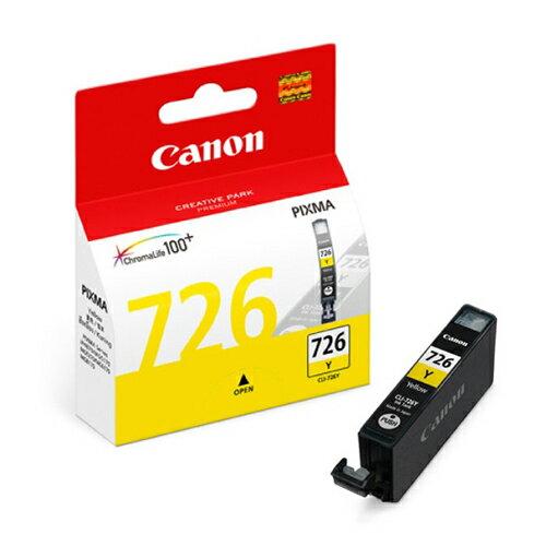CANON CLI-726Y 原廠黃色墨水匣 CLI-726 Y 適用 ix6560