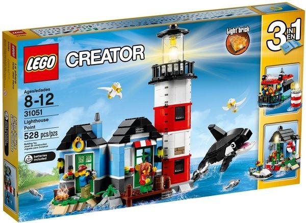 ~LEGO 樂高積木~Creator 3合1創作系列 ~ 燈塔小屋 LT~31051