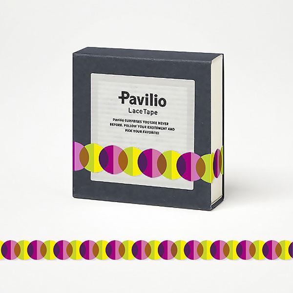 【日本Pavilio】風格膠帶MINI系列F-MI02PP粉巴斯特捲
