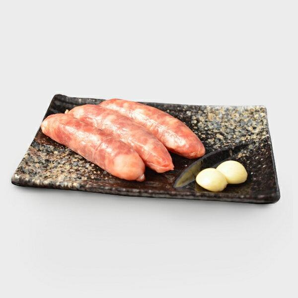 【台灣好好豬】原味香腸300g(包)