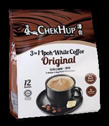馬來西亞(非台版) 澤合怡保即溶白咖啡 三合一原味12包*30g 效期21/9