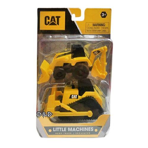 東喬精品百貨商城 《CAT》玩具車 3吋 迷你工程系列 二入組(反鏟挖土機&推土機)  東喬精品百貨