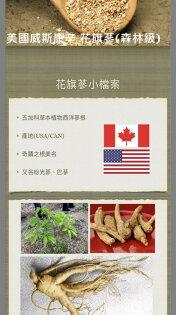 Organic 綠草如茵 無毒 養身 有機:【正統美國威斯康辛州森林級花旗蔘茶】免運