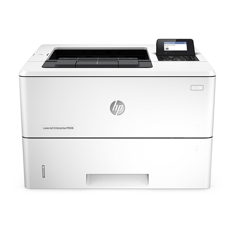 HP Laserjet Enterprise M506dn Laser Printer with Built-in Ethernet & Duplex Printing (F2A69A)