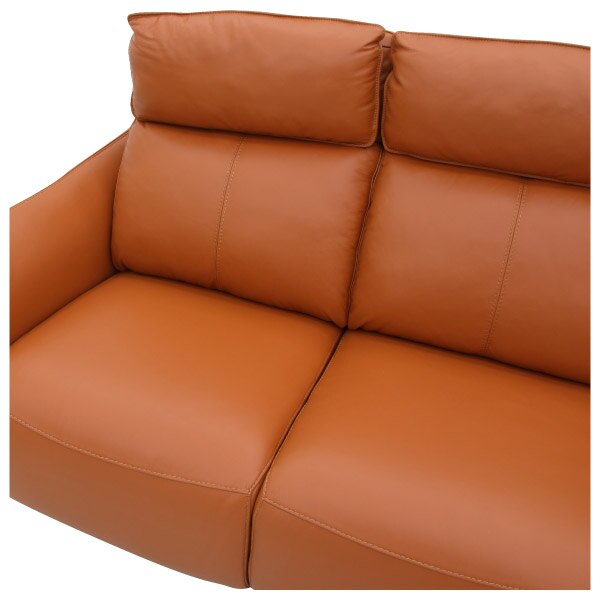 ◎(OUTLET)HTL高級全皮3人用沙發 H624 OR 福利品 NITORI宜得利家居 4