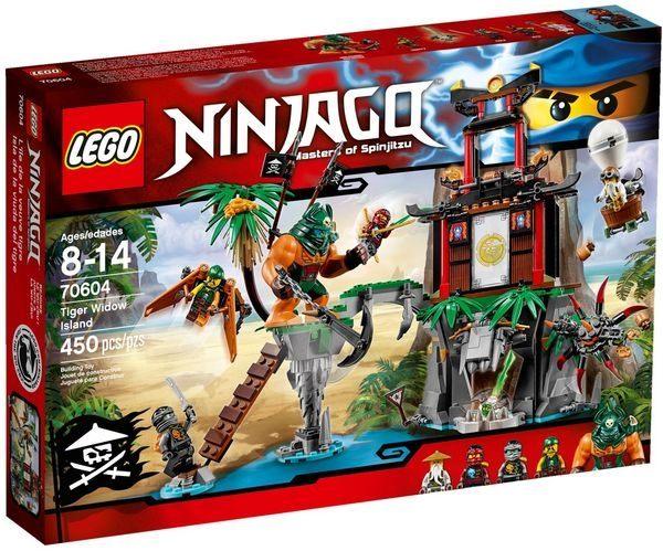 【LEGO樂高積木】Ninjago忍者系列-大戰虎寡婦蜘蛛島LT-70604