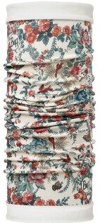 【【蘋果戶外】】BF113143西班牙BUFF魔術頭巾瑰麗花園雙面保暖頭巾Polartec保暖纖維脖圍