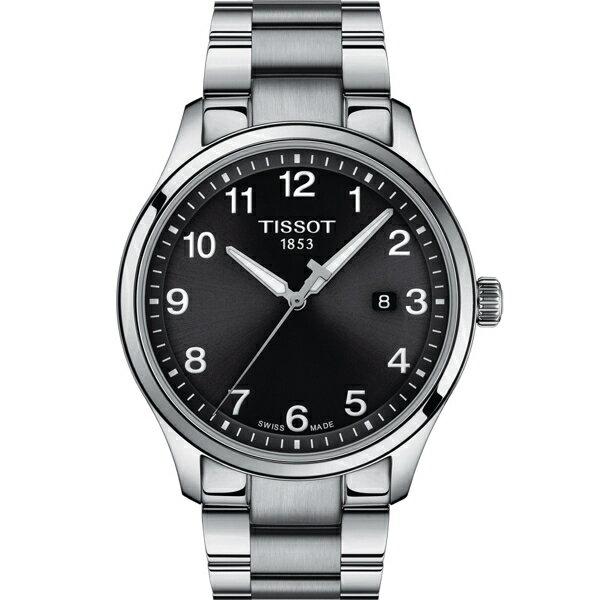 TISSOT天梭 GENT XL CLASSIC 經典大三針男錶(T1164101105700) 0