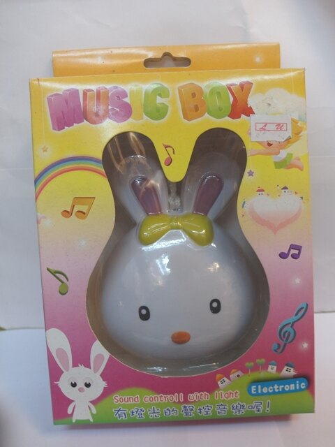 【兒童玩具】可愛動物床邊聲控音樂鈴