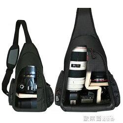 相機包 寶羅攝影包簡約單肩小單反相機包斜跨包男女750d三角戶外背包 JD【美物居家館】