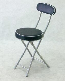 BROTHER兄弟牌丹堤有背折疊椅(黑色)~PU加厚座墊設計,促銷價449元1張箱~家居休閒必備!