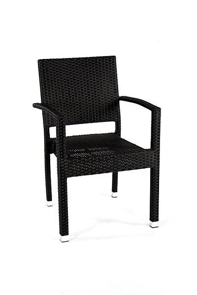 BROTHER威士頓鋁合金扶手膠藤椅~腳管加厚編織穩定性佳!