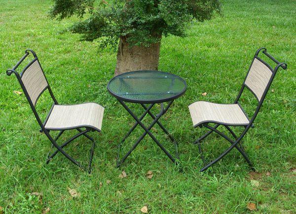 ROTHER 兄弟牌折疊紗網一桌二椅組