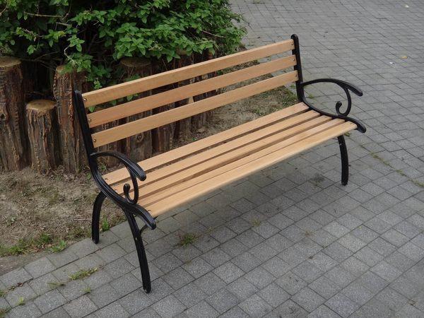 BROTHER 兄弟牌米蘭典雅雙人鑄鐵公園椅