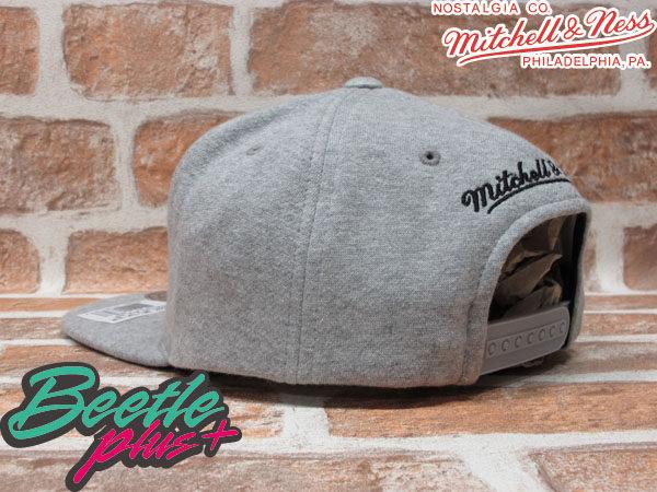 BEETLE PLUS MITCHELL&NESS NFL 奧克蘭 突擊者 RAIDERS LOGO 毛巾布 全灰 SNAPBACK 後扣棒球帽 MN-139 1