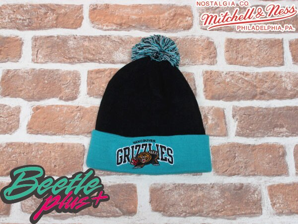 BEETLE PLUS  MITCHELL  NESS NBA BEANIE LOGO 溫