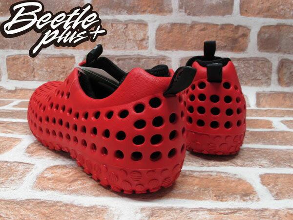 BEETLE PLUS 出清特價 下殺 6折 全新 日本最新品牌 CCILU 洞洞鞋 AMAZON SUMMER AM 紅 黑 2