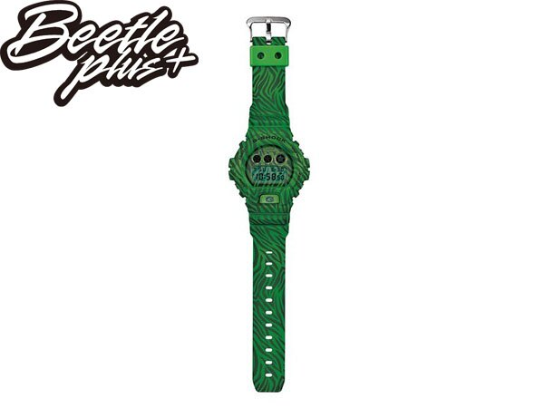 BEETLE PLUS 全新 2014 CASIO G-SHOCK DW-6900ZB-3DR 綠 斑馬 迷彩 紋路 西瓜 叢林 三顯 手錶 卡西歐 WATCH 2
