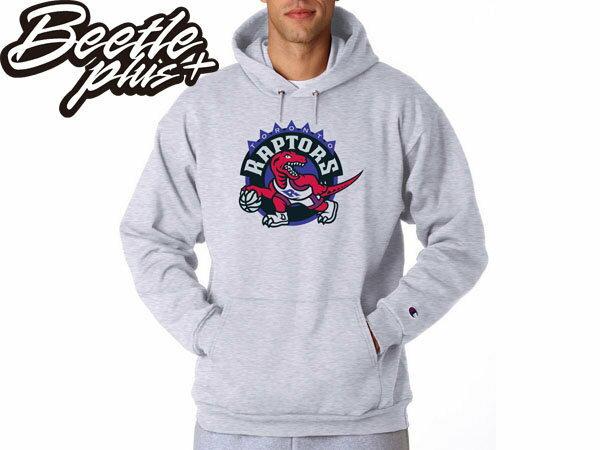 BEETLE PLUS NBA CHAMPION 加拿大 多倫多 暴龍 TORONTO RAPTORS BOSH 灰 帽T 帽TEE - 限時優惠好康折扣